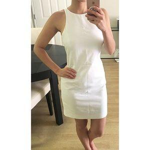 ZARA White Sleeveless Shift Dress Small